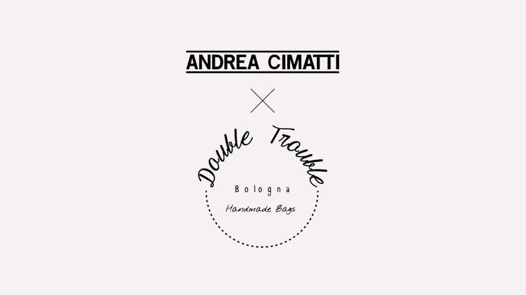 Logo della collaborazione Andrea Cimatti per Double Trouble