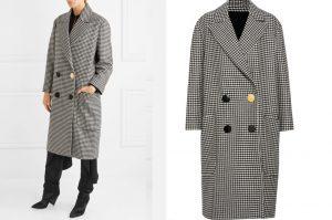 giacche principe di galles con bottone differente a cappotto