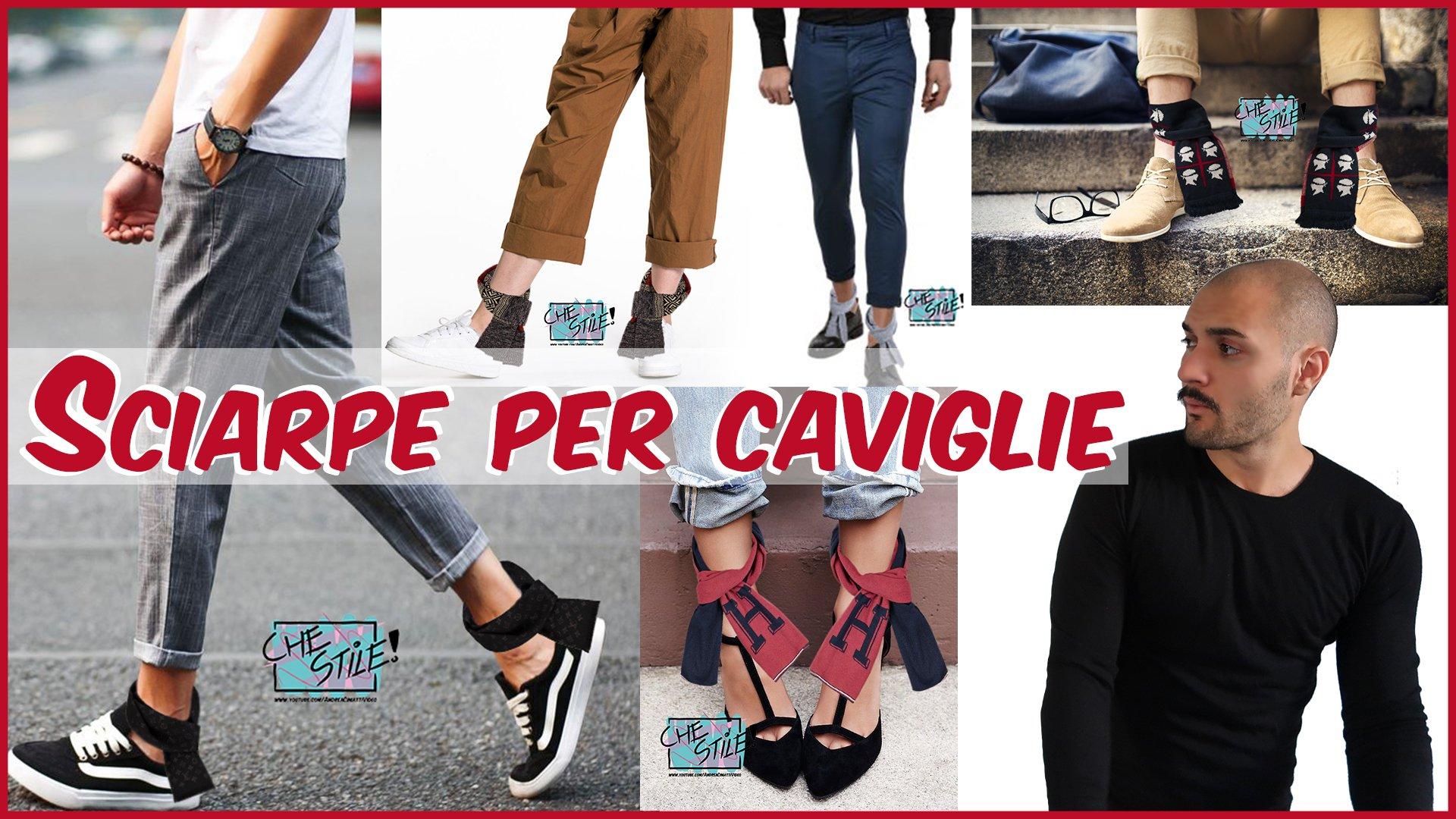 Sciarpe per caviglie - E' boom tra giovani e meno giovani | Che Stile