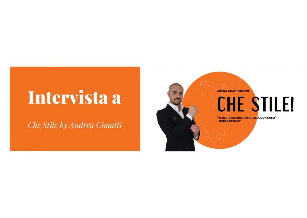 Intervista allo YouTuber Andrea Cimatti